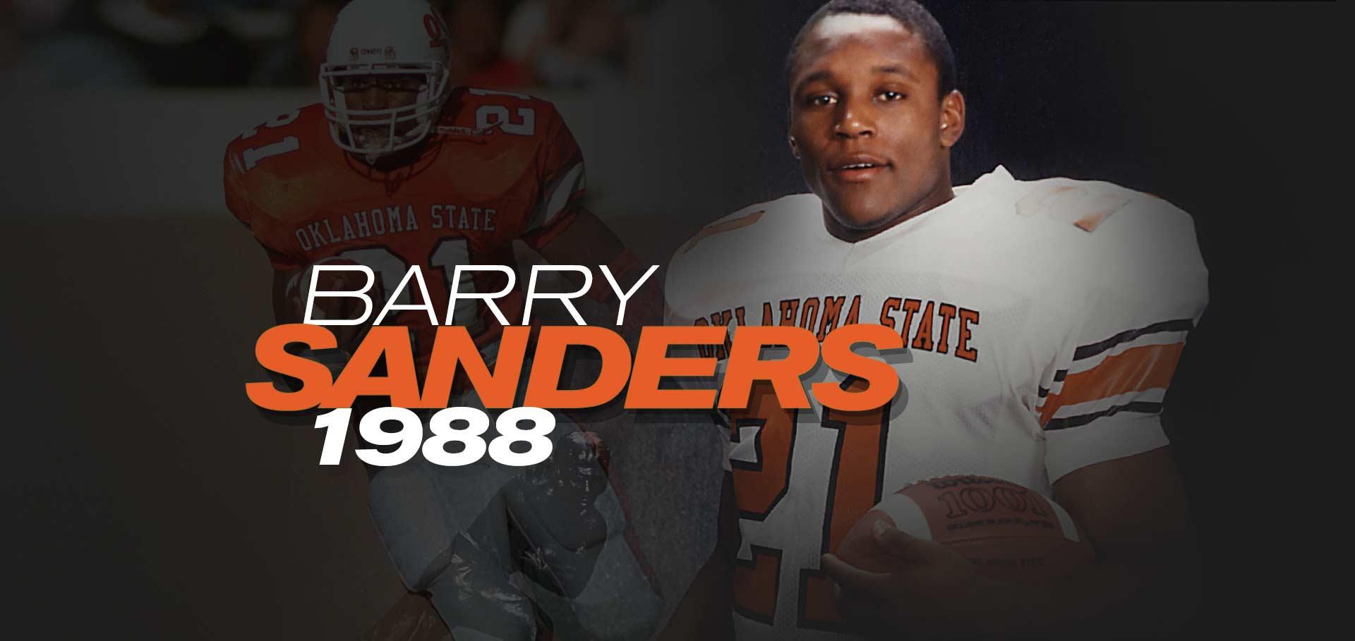 d556d7cb Barry Sanders   Heisman