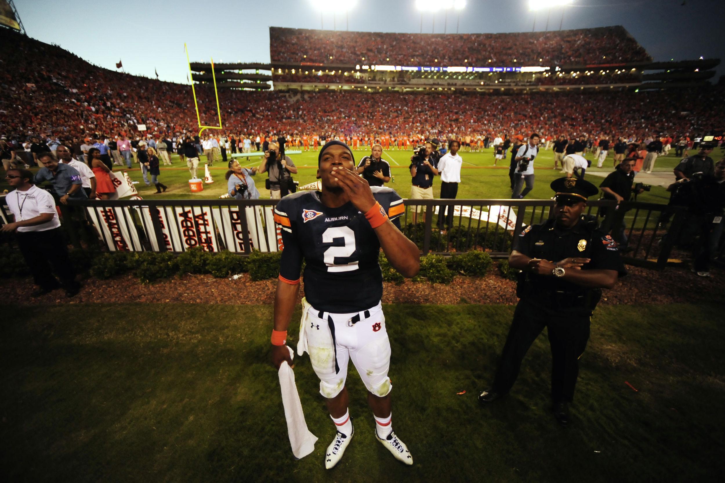 Auburn University Football quarterback