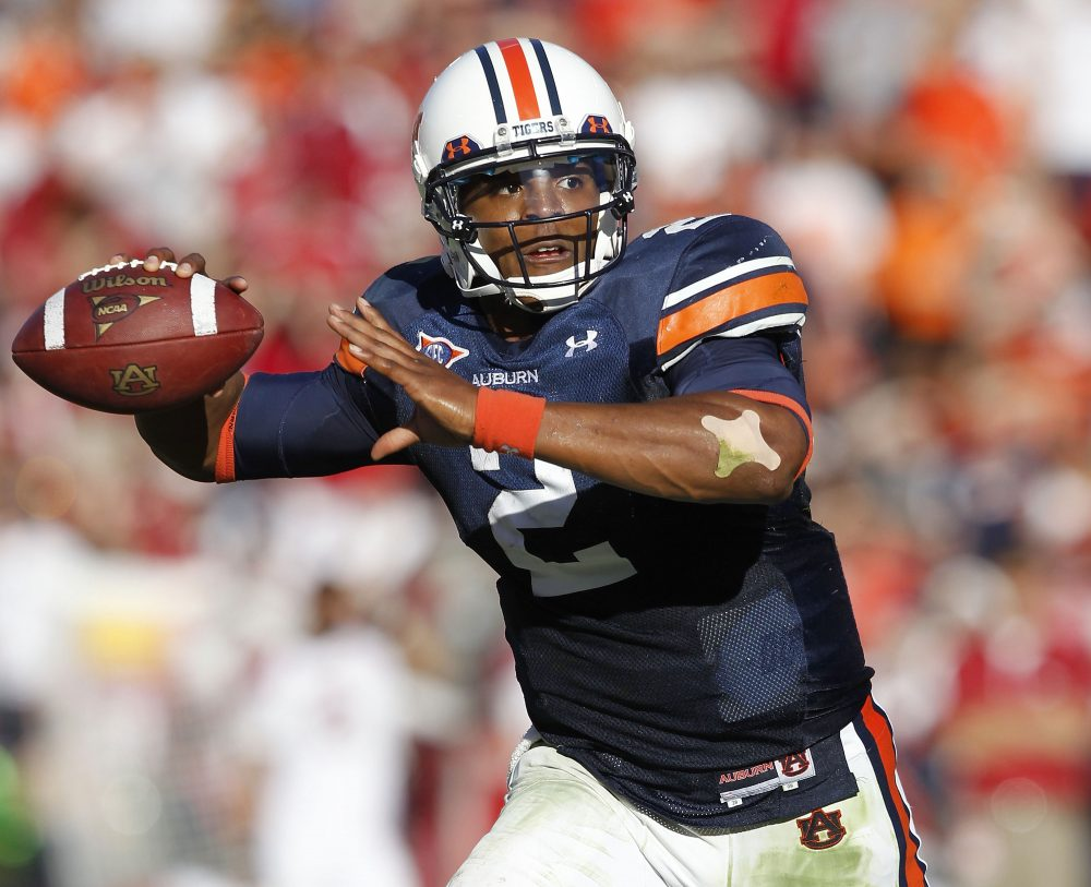 Auburn University Football quarterback
