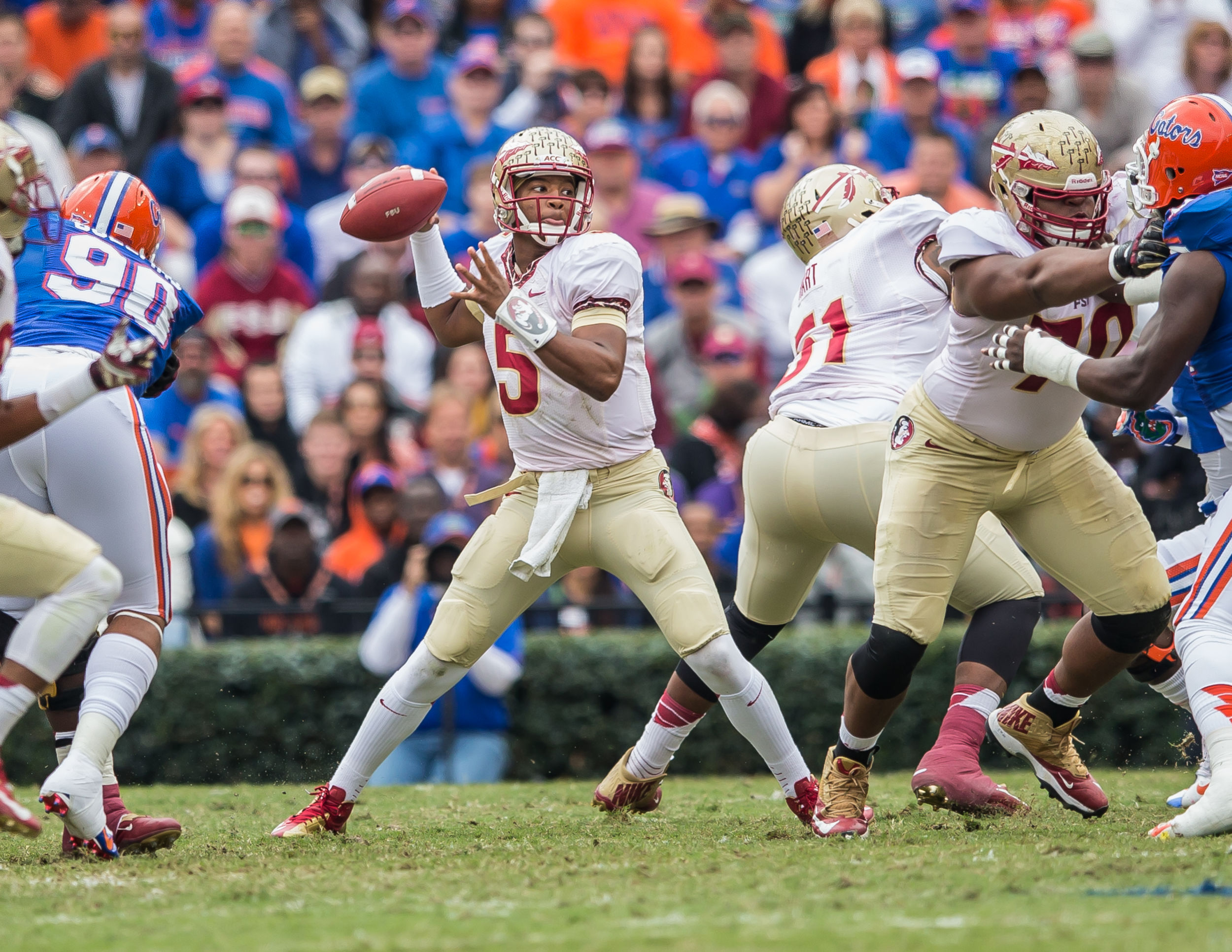 Florida State University Football quarterback