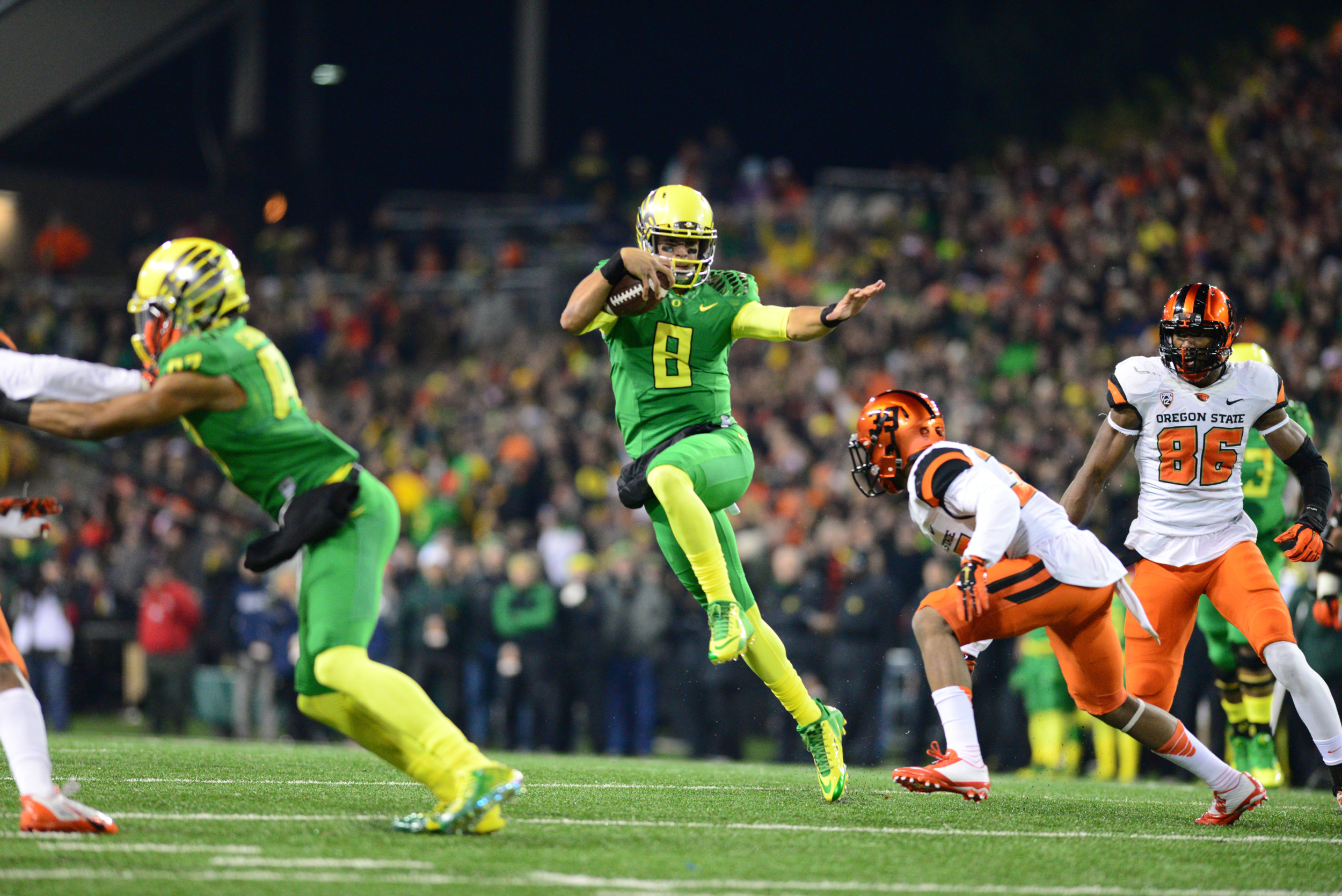 University of Oregon Football quarterback
