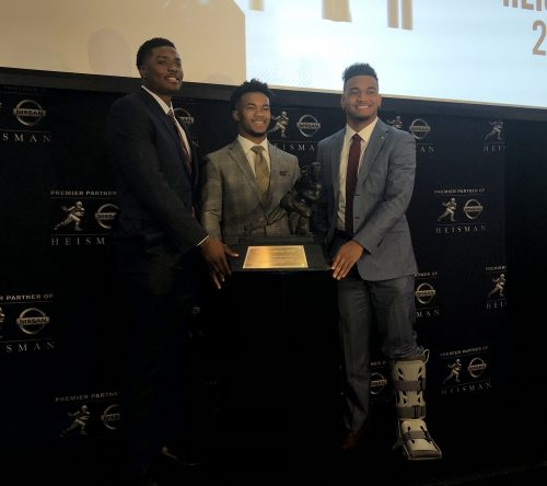 Highlights from Friday's Heisman finalist press conference