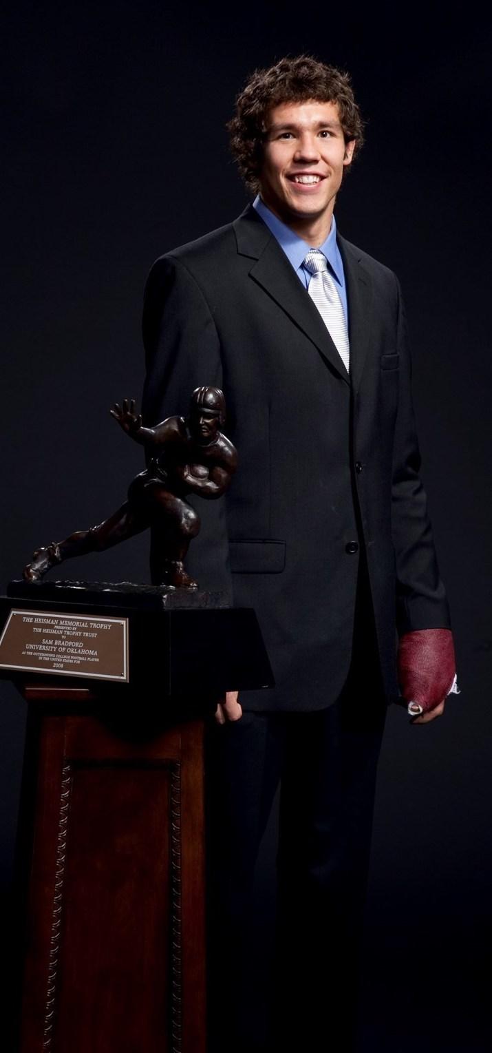 10th Anniversary Heisman Winner  Sam Bradford