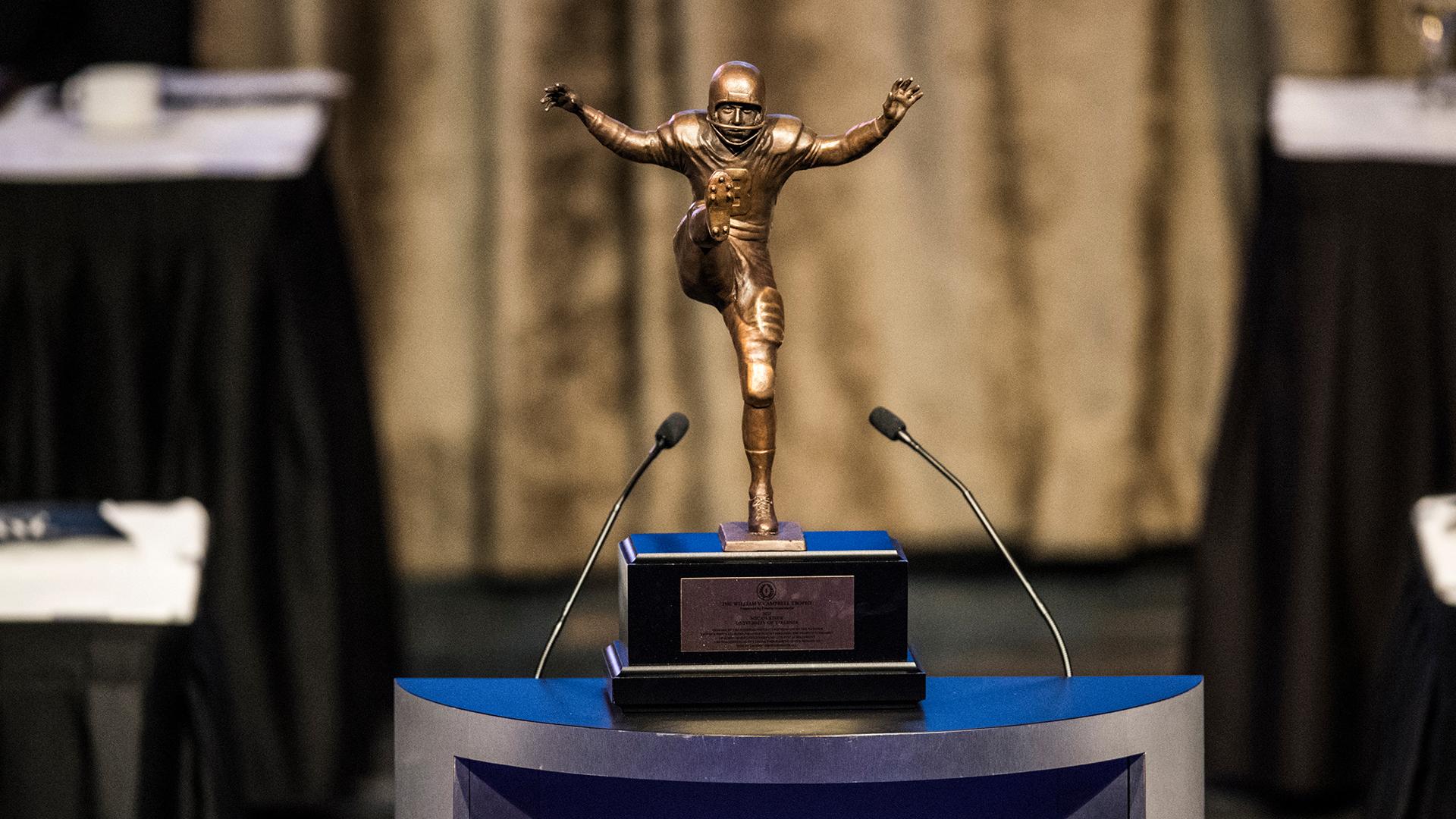 Campbell Trophy - Twice Won By Heisman Winners - Announces 2020 Finalists -  Heisman