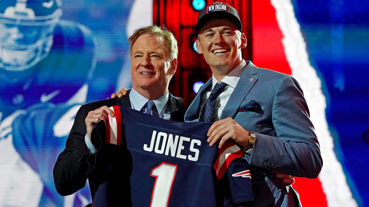 Alabama's Mac Jones was drafted by the New England Patriots with the 15th pick in the 2021 NFL Draft