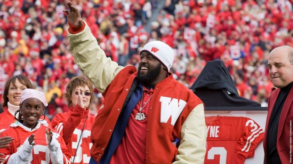Ron Dayne is giving back to the Wisconsin community