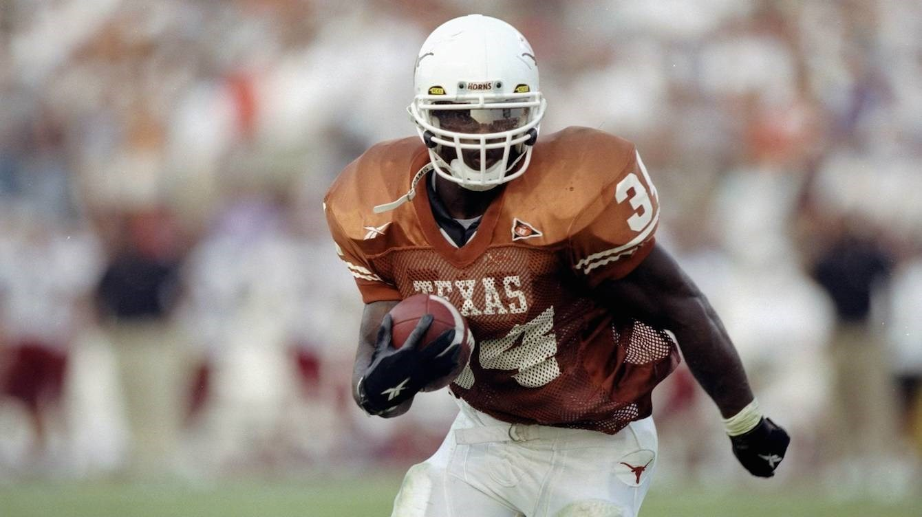 Ricky Williams 1998 Heisman Texas RB
