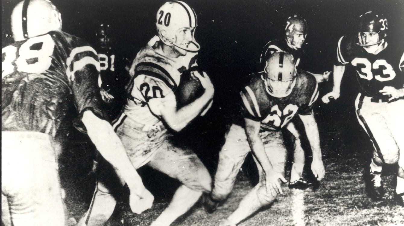 Billy Cannon - Heisman Winner 1959 - Louisiana State University