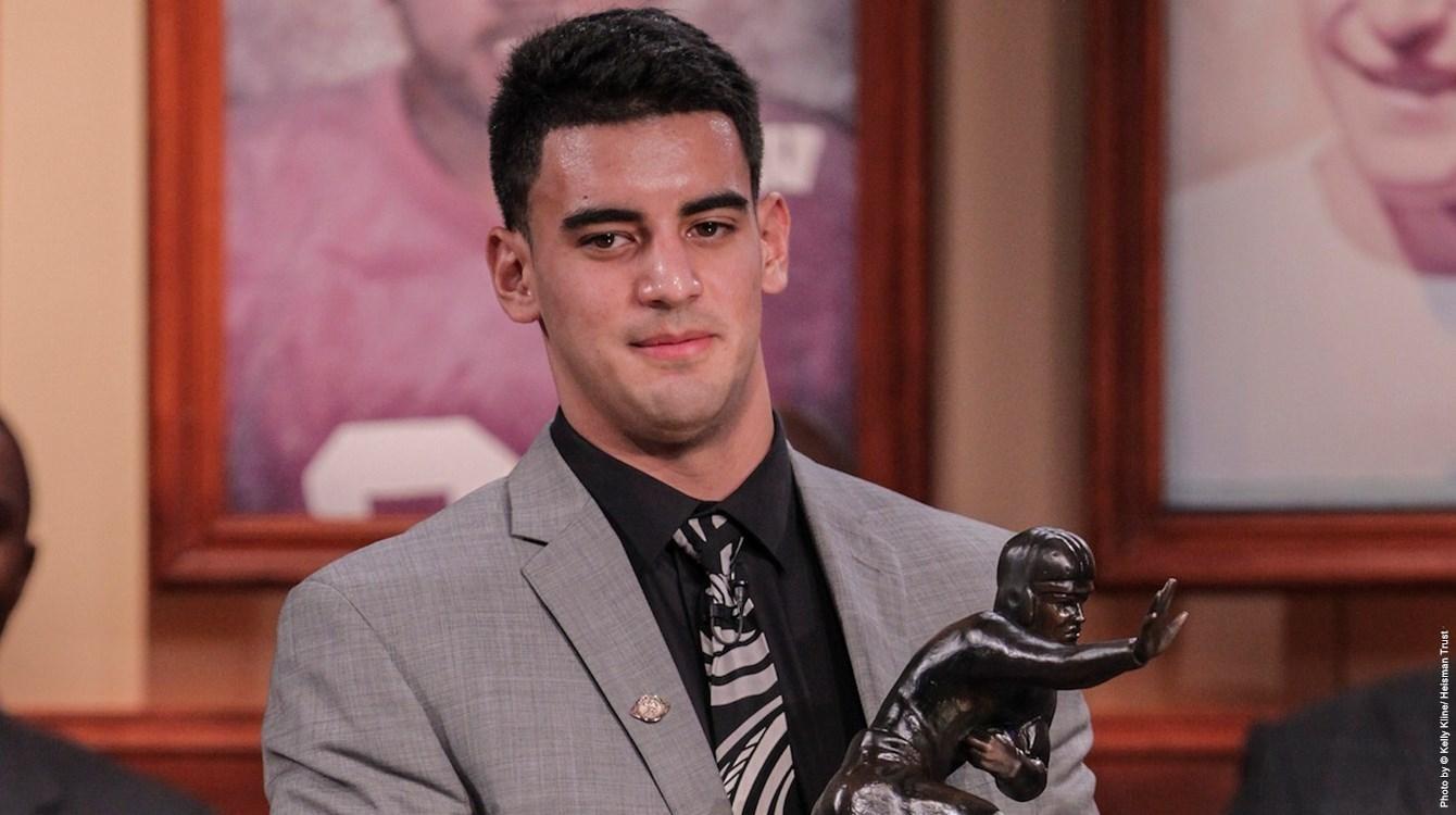 Marcus Mariota of Oregon selected as the 2014 Heisman Trophy winner