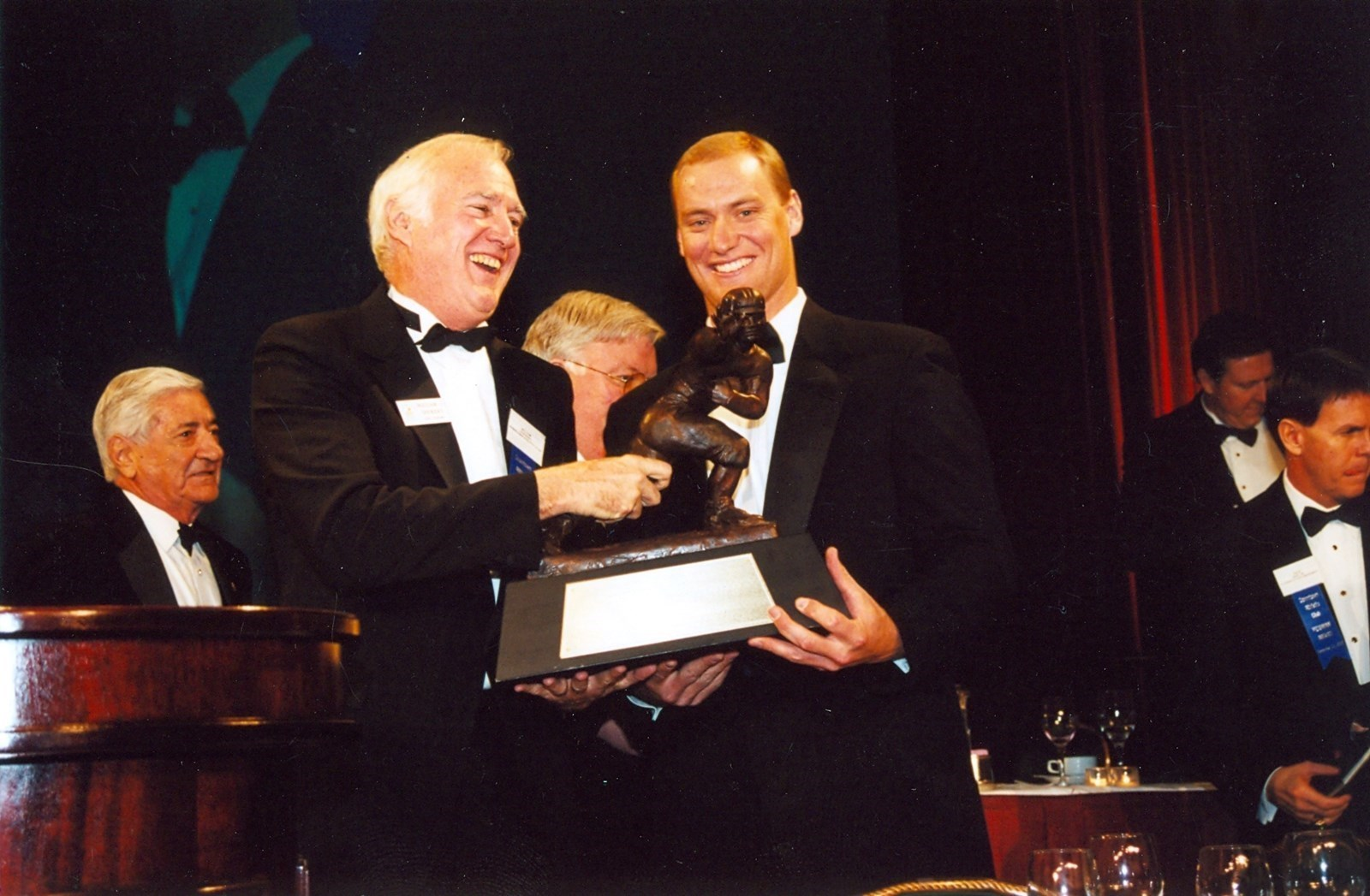 Chris Weinke Heisman Trophy FSU Quarterback