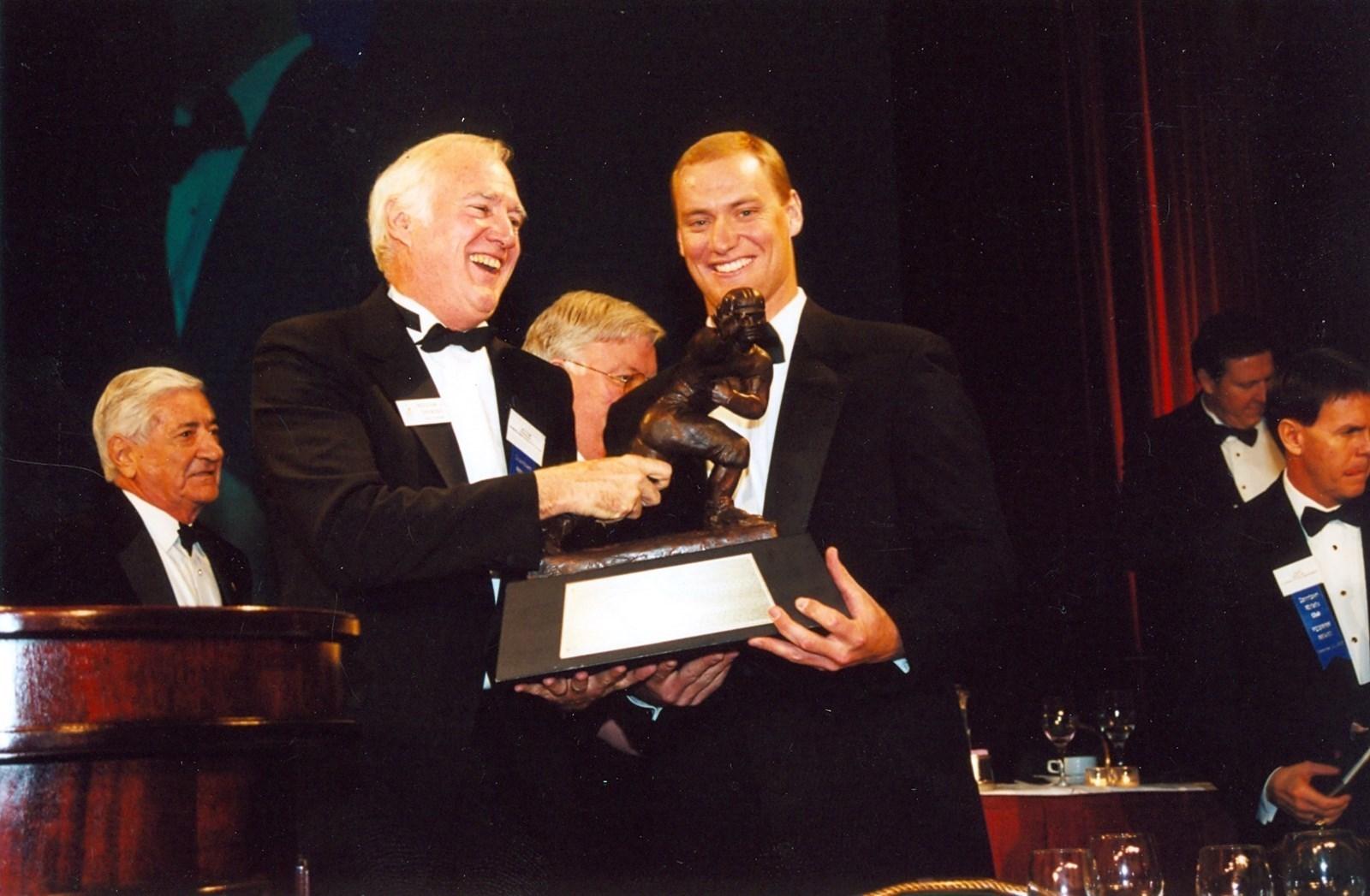 Chris Weinke Heisman Trophy FSU Quarterback