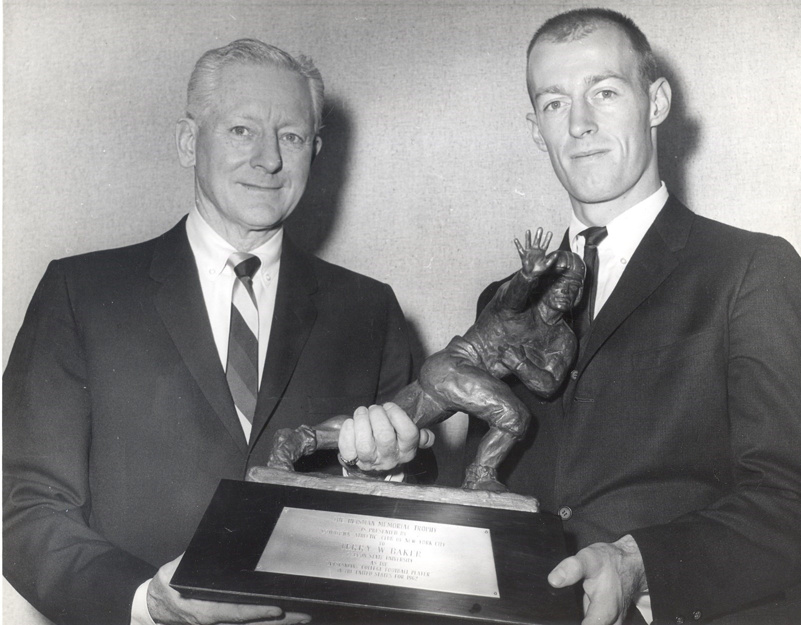 Terry Baker - Heisman Winner 1962 Oregon State University