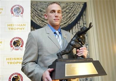 Jason White Heisman Award Winner