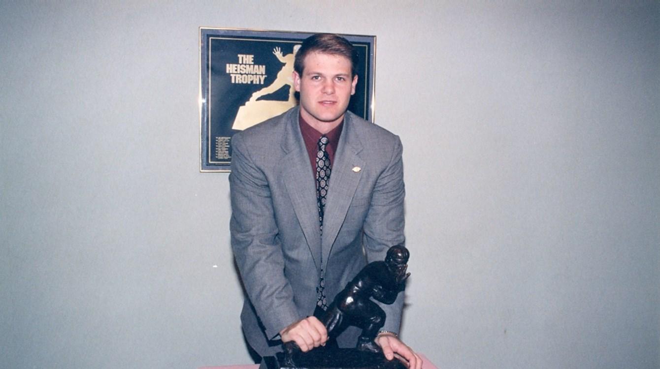 The 1996 Heisman ceremony