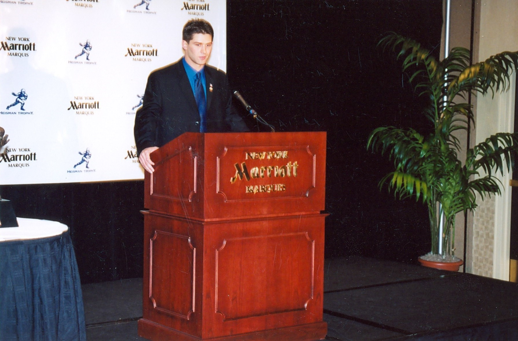 Eric Crouch - Nebraska QB Heisman Acceptance Speech
