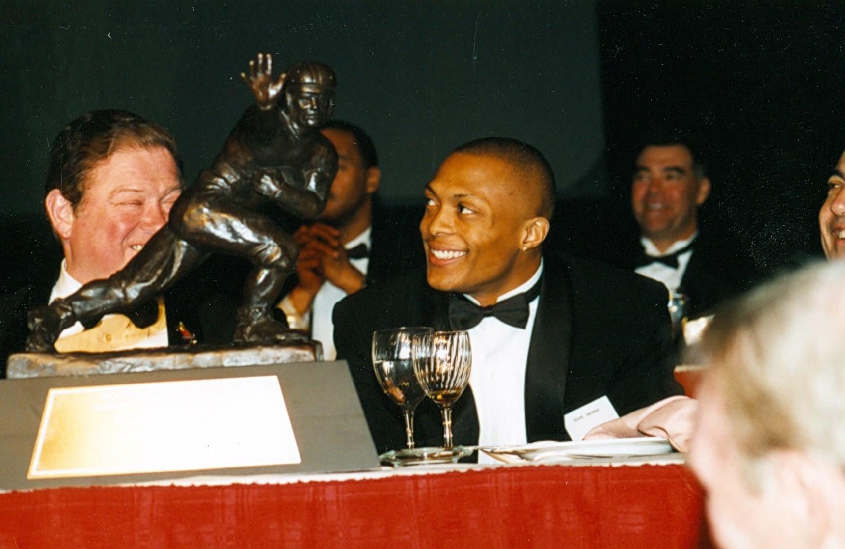 Eddie George 1995 Heisman Trophy winner
