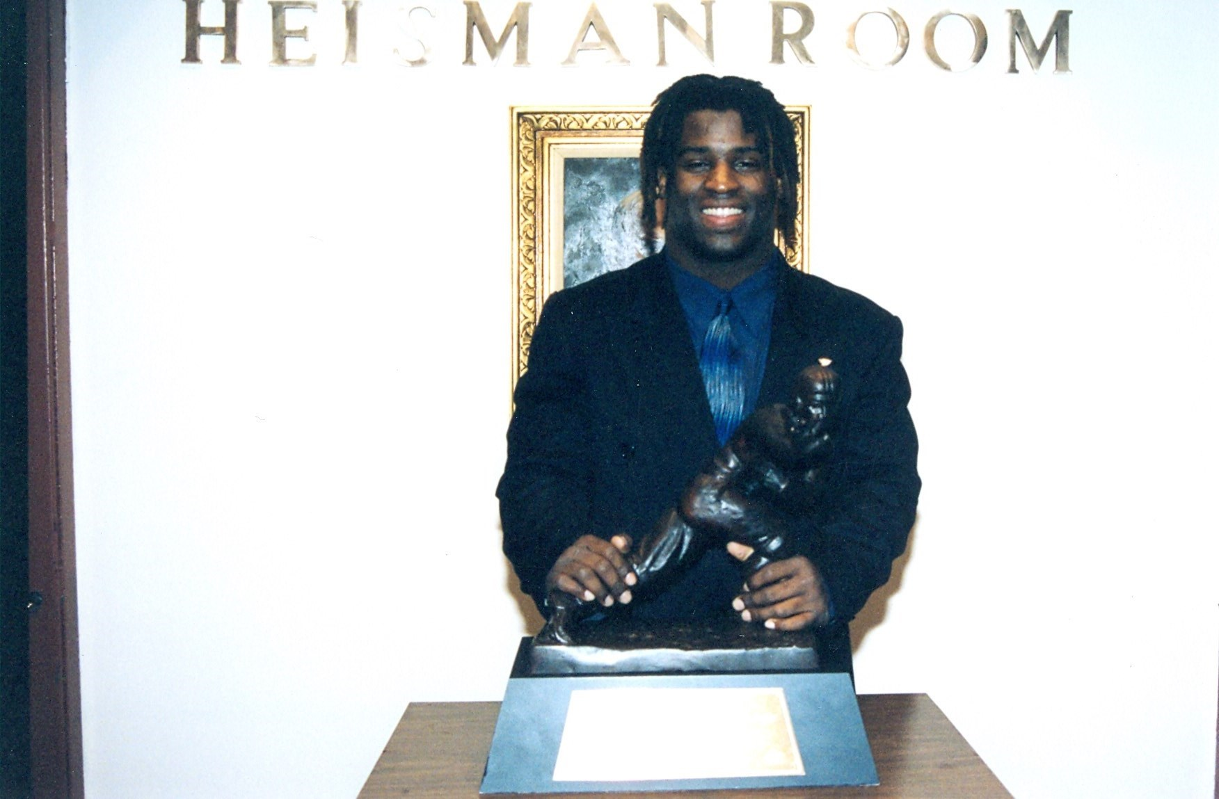 Ricky Williams 1998 Heisman Texas RB
