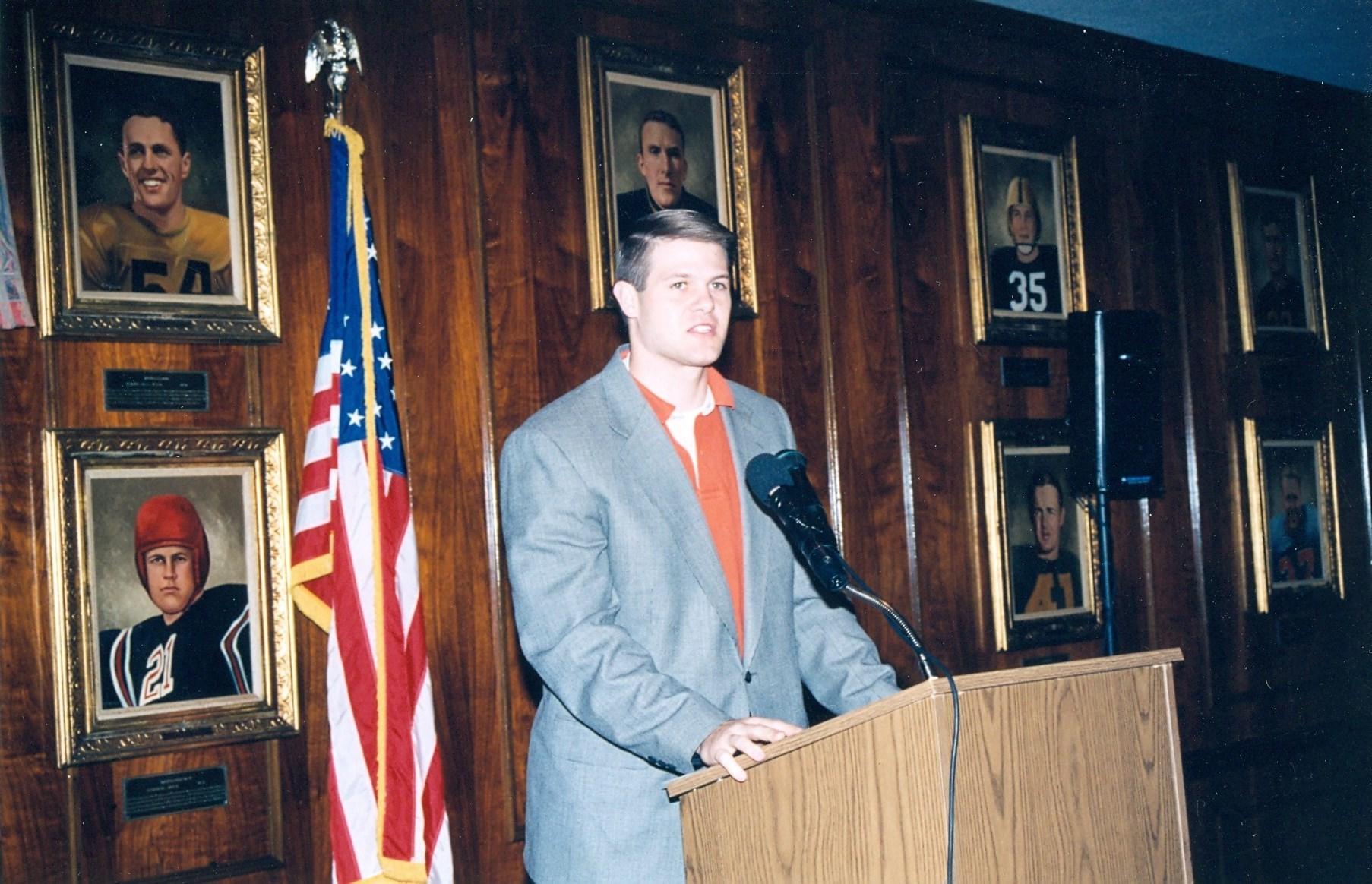Danny Wuerffel 1996 Heisman Trophy Winner