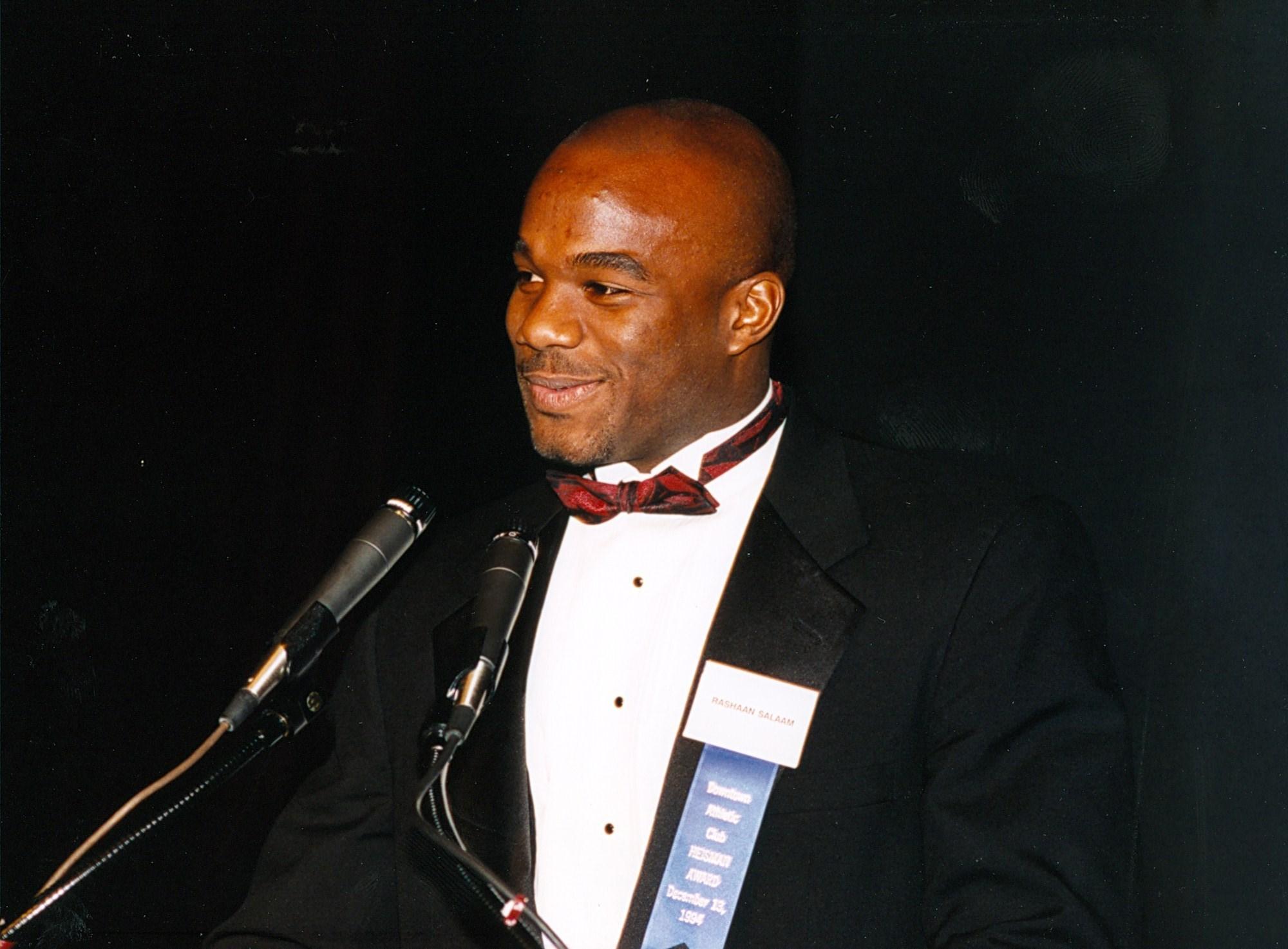 Rashaan Salaam 1994 Heisman Trophy Winner