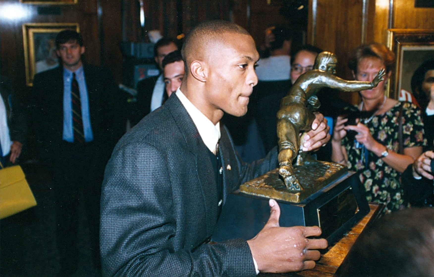 Eddie George 1995 Heisman Trophy winner
