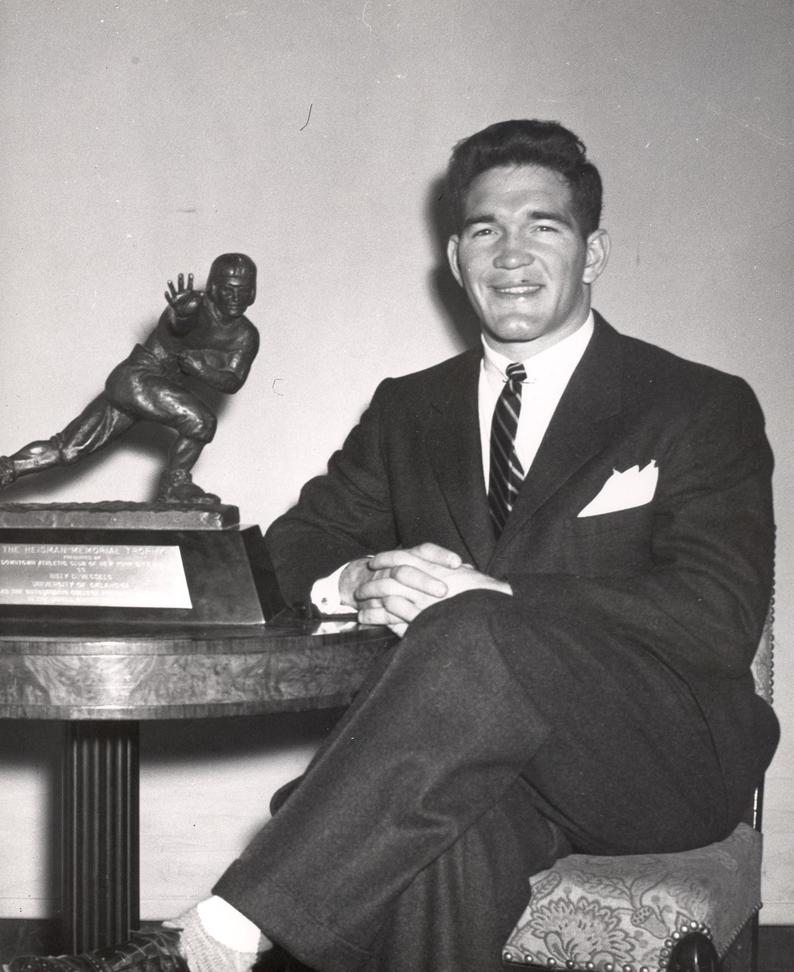 Billy Vessels - 1952 Heisman Trophy Winner