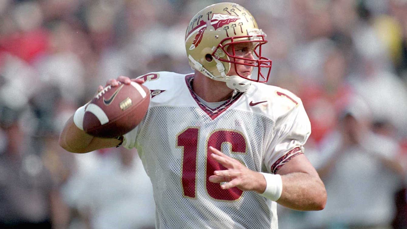 Chris Weinke Heisman winner FSU Quarterback