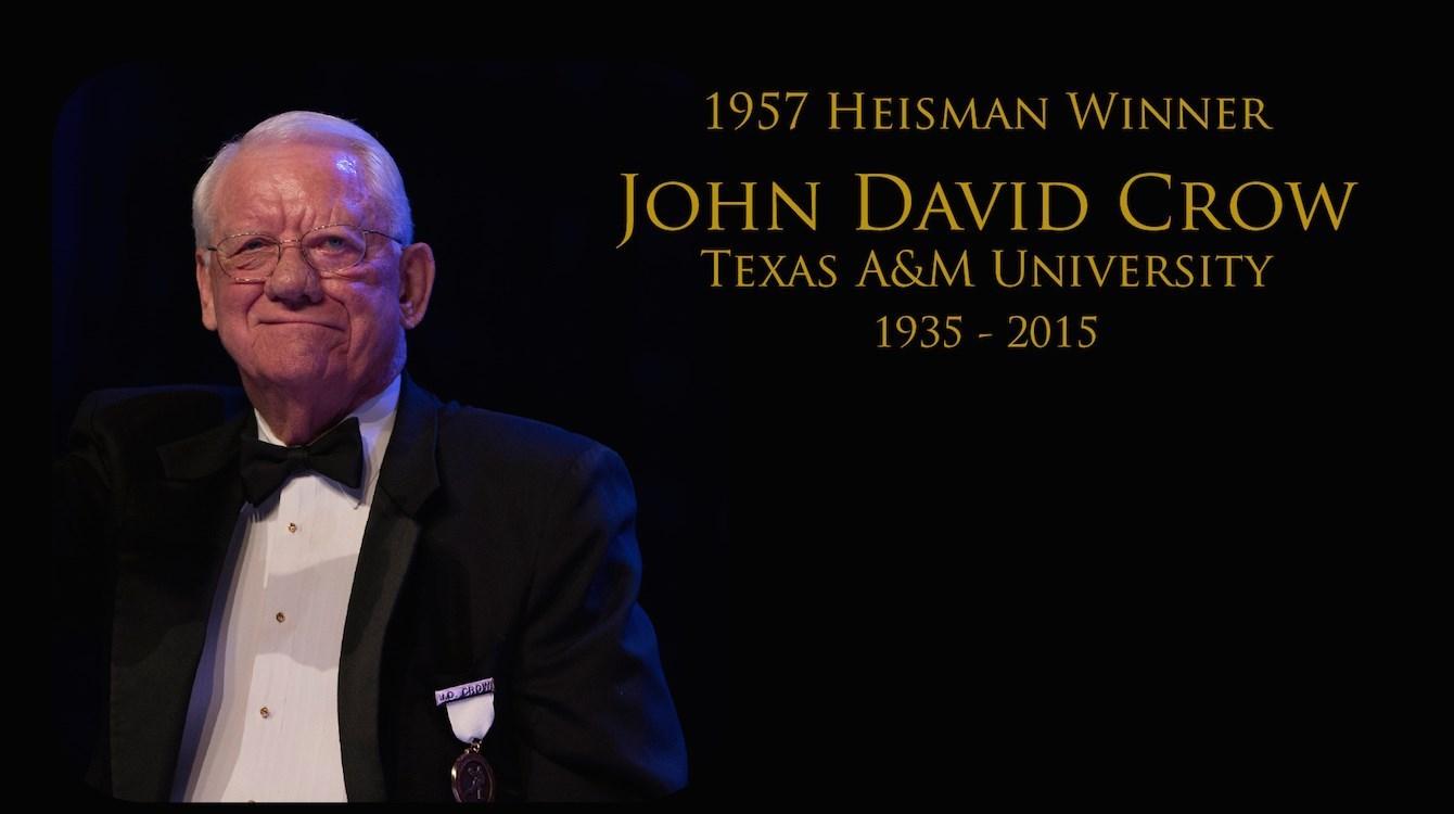In memoriam of John David Crow