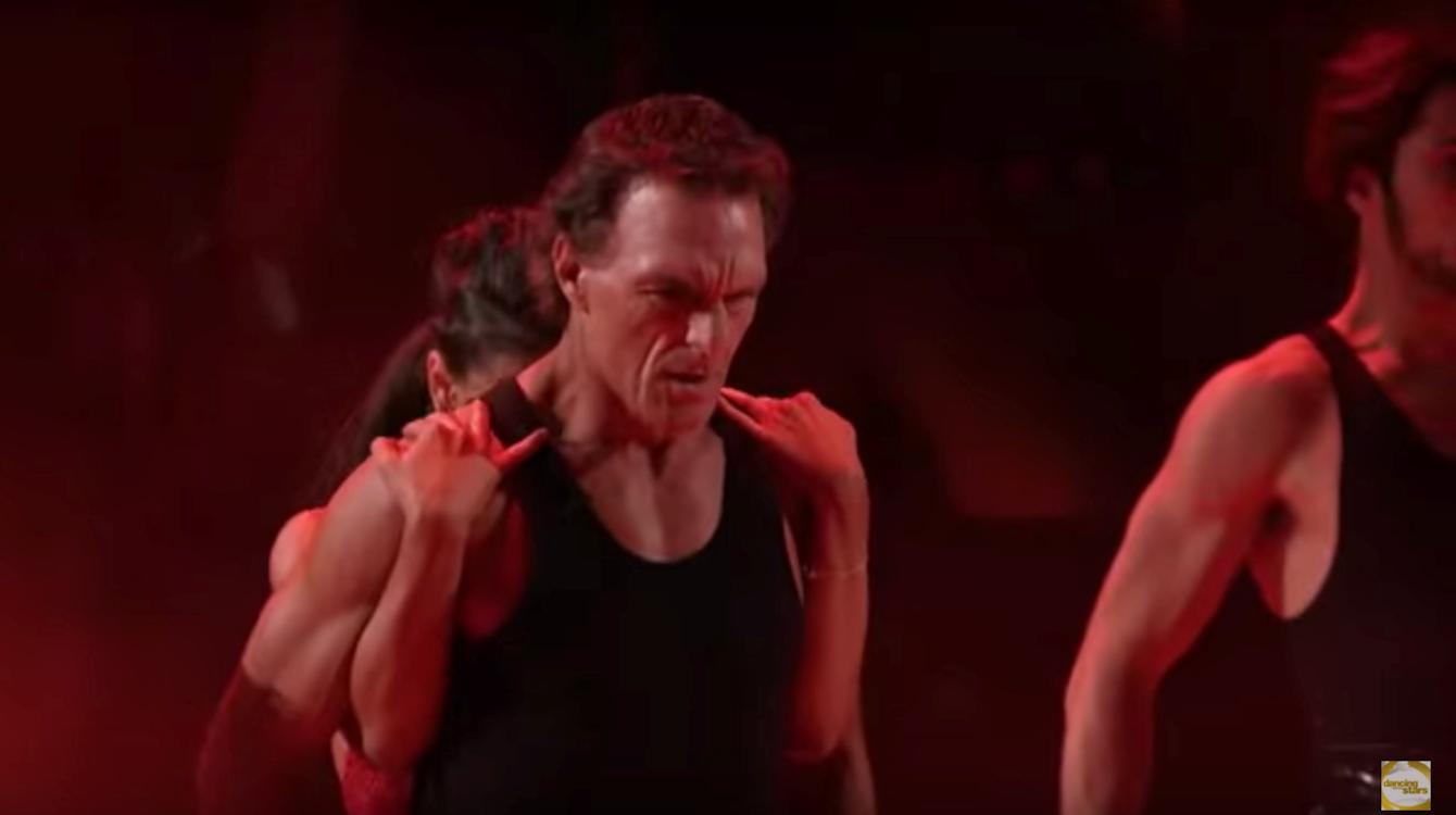 Doug Flutie dances the paso doble