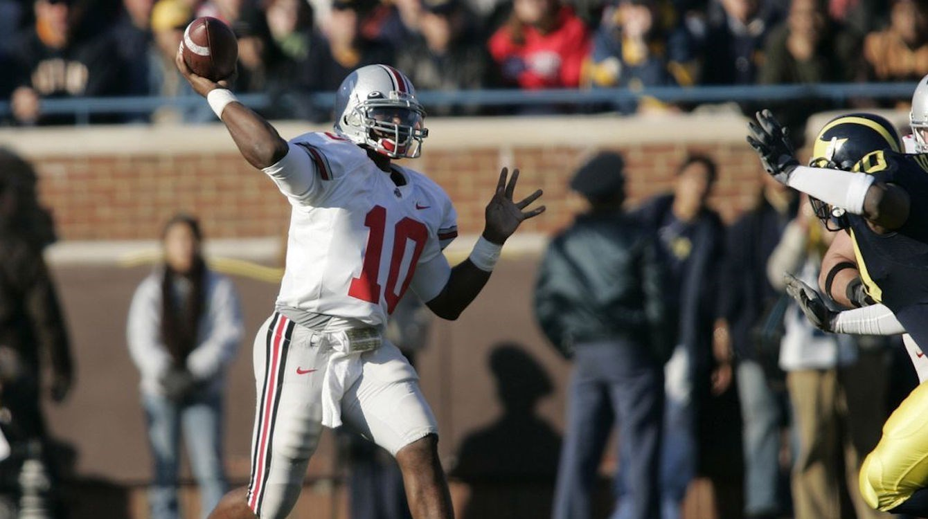 Ohio State University Heisman winner Troy Smith 2006
